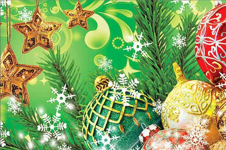 Как в фотошопе своими руками сделать календарь к Новому году?